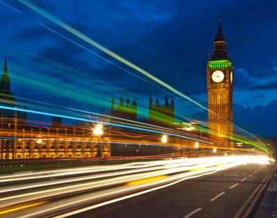 Big Ben de Noche Londres